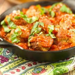 Turkey Meatballs With Tomato Sauce