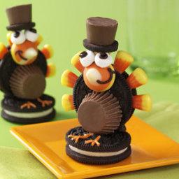 Turkey Pilgrim Cookies Recipe