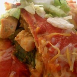 Turkey Pumpkin Enchiladas