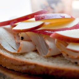 Turkey Sandwiches With Maple Mayonnaise