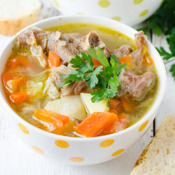 Turkey Soup for the Slow Cooker
