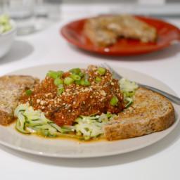Turkey Spaghetti with Zucchini Noodles