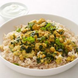 Turkey-Spinach Korma
