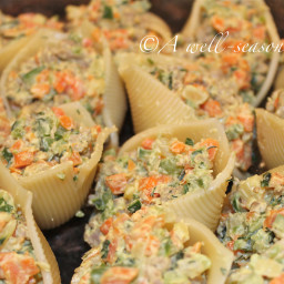 Turkey Stuffed Pasta Shells