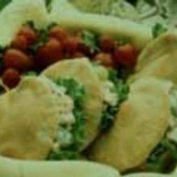 Turkey Tarragon Pitas