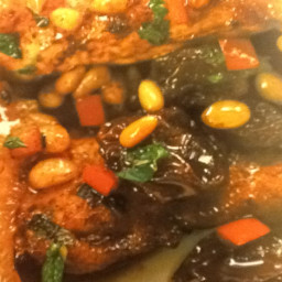 Turkey with Pine Nuts and Sultanas