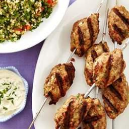 Turkey Kofta with Tahini Sauce