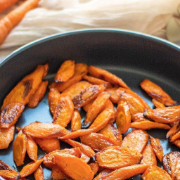 Turmeric and Ginger Roasted Carrots