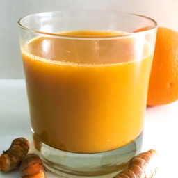 Turmeric Carrot and Orange Juice