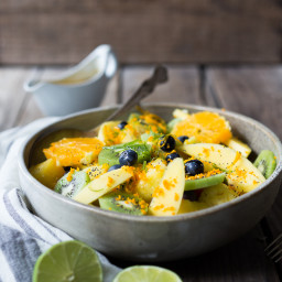 Turmeric Fruit Salad