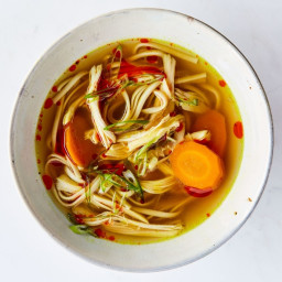 Turmeric-Ginger Chicken Soup