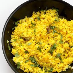 Turmeric Lemon Rice Recipe