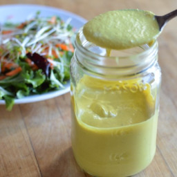 Turmeric Sunflower Seed Dressing