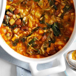 Tuscan bean and barley stew