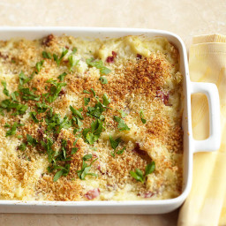 Tuscan Cheese Potato Bake