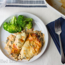 Tuscan Chicken Casserole – Low Carb, Grain Free, THM S