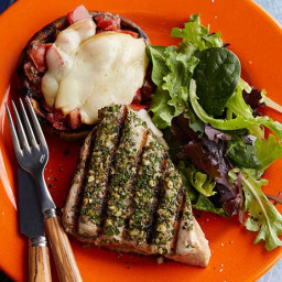 Tuscan-Style Grilled Tuna Steaks