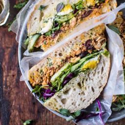 Tuscan Tuna Sandwich