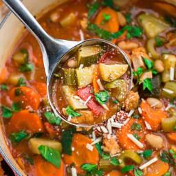 Tuscan Vegetable Chicken Stew
