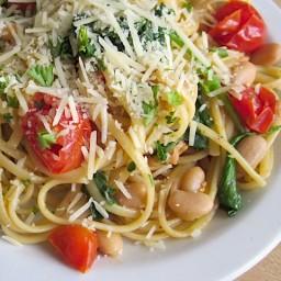 tuscan white bean pasta