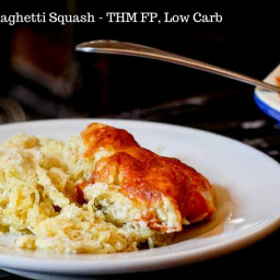 Twice Baked Spaghetti Squash – THM FP, Low Carb