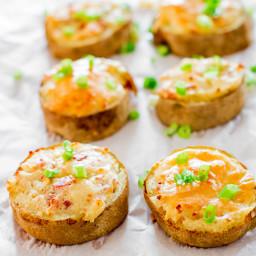 Twice Baked Potato Slices