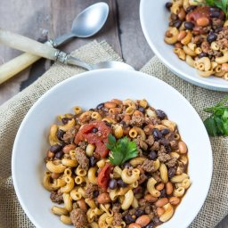 Two Bean Chili Mac