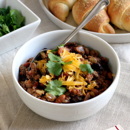 Two-Bean Turkey Chili