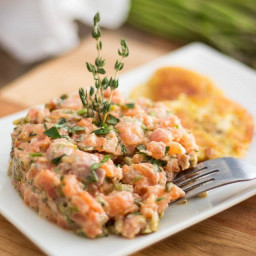 Two-Salmon Tartare