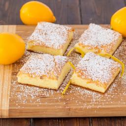 Two Ingredient Fat Free Lemon Bars
