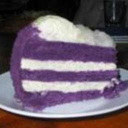 Ube-Macapuno Cake Recipe