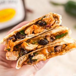 Ultimate BBQ Chicken Quesadillas