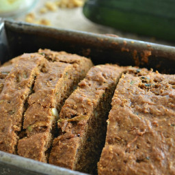Ultimate Zucchini Bread with Orange Cream Cheese Spread