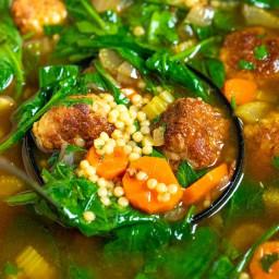 Ultra-Satisfying Italian Wedding Soup