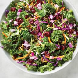 Ultra Simple Chopped Kale Salad