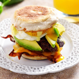 Ultra-Smashed Brunch Burgers With Quick Jalapeño Hollandaise