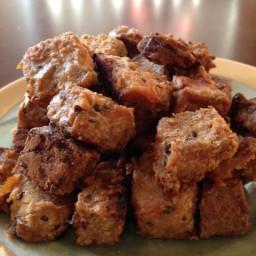 unbelievably vegan baked tempeh