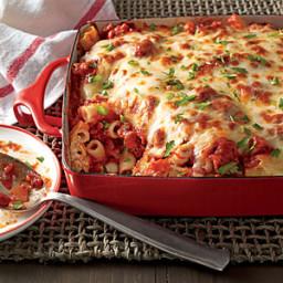 uncooked ziti pasta