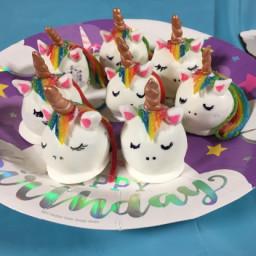 Unicorn Cake Truffles