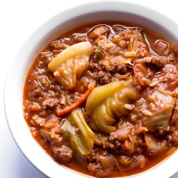 Unstuffed Cabbage Roll Soup Recipe