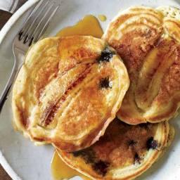 Blueberry-Banana Pancakes (Huffington Post)