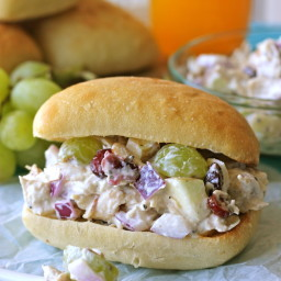 Greek Yogart Chicken Salad Sandwich