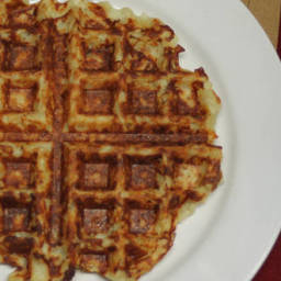 Crispy Hashbrown Waffles