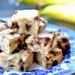 Chocolate Chip Banana Bread Bites