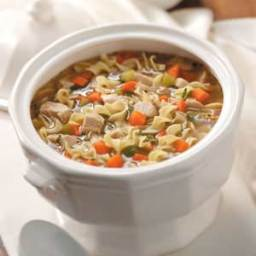 Old-Fashioned Turkey Noodle Soup