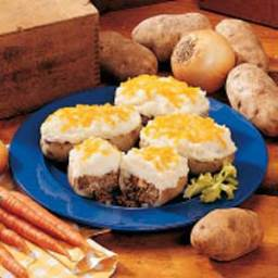 Beef and Potato Boats