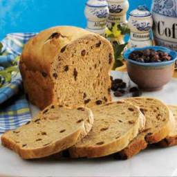 Bread Machine Coffee Raisin Bread
