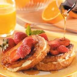 Strawberry Cheesecake French Toast