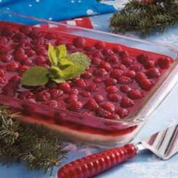 Raspberry Icebox Dessert