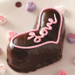 Valentine Heart Cakes